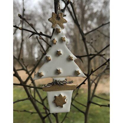 Keramik juletræ
