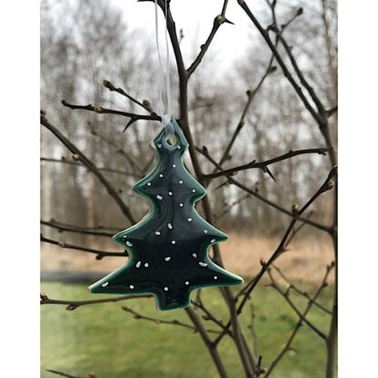 Juletræ grøn