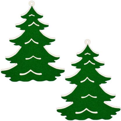 Juletræer 2 stk.