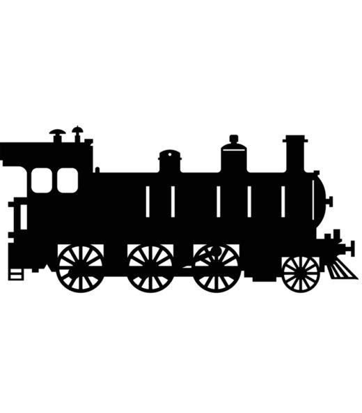 Lokomotiv silhuet