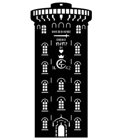 Rundetårn silhuet