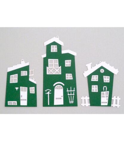 Sjove huse Grøn