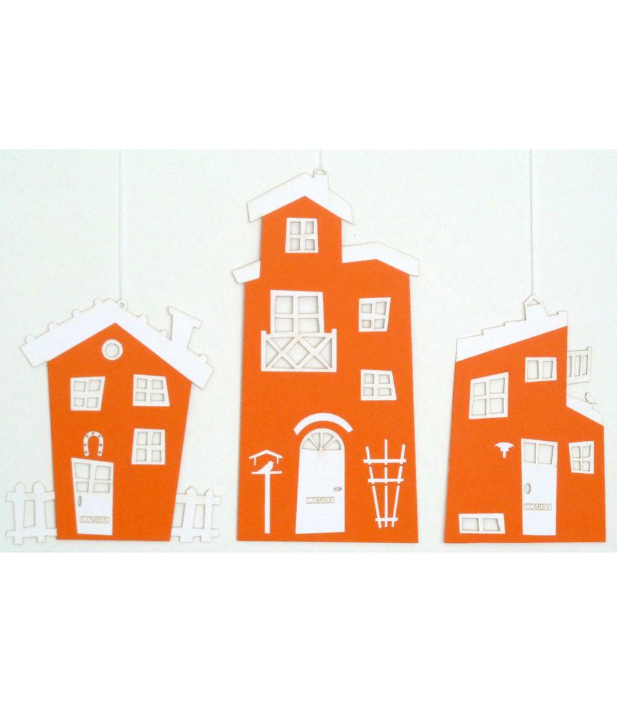Sjove huse Orange